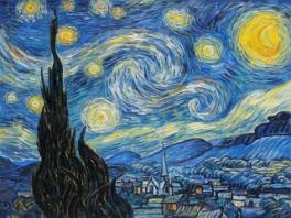 De naam van deze game is afgeleid van dit schilderij van Van Gogh.