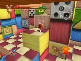 Deze game is een 3d actie platvorm game in een speelgoed wereld.