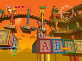 Aan kleuren komen de levels aan deze game niet tekort.