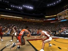 Speel met je favoriete NBA spelers in NBA Live 08!
