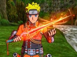 Naruto heeft zijn nieuwe speeltje gevonden...