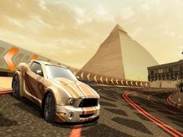 Race door 5 wereldsteden, zoals hier in Caïro.