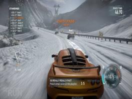Ook in de sneeuw moet je overleven.