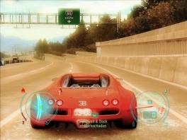 Ja, in dit spel kun je in de heilige Bugatti Veyron racen!
