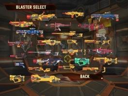 In dit spel zijn het niet de personages, maar de hoeveelheid wapens die de show stelen!