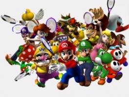 Speel tennis met Mario en al zijn vrienden!