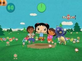 Deze cartoony karaktertjes vervullen de rol van trainer in deze game.