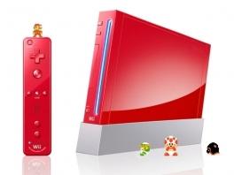 En nu, voor <a href = https://www.mario64.nl/nintendo64_Super_Mario_64.htm target = _blank>Super Mario</a>'s 25ste verjaardag, een rode wii speciaal voor de mario fans!