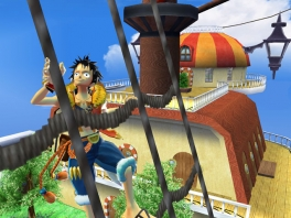 Speel als de Strawhat-piraten, zoals kapitein Monkey D. Luffy