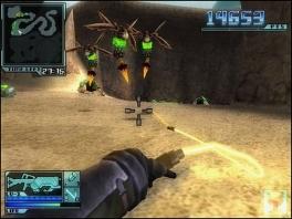 Schudden met de <a href = https://www.mariowii.nl/wii_spel_info.php?Nintendo=Wii_Nunchuk>nunchuck</a> brengt de zweep uit, voor enemies die dichterbij zijn.