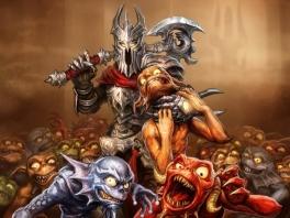 """De gruwelijke """"Overlord"""" met z'n zogenaamde vrienden."""