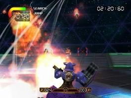 Leuke feature van de game is de wifi optie om tegen andere mensen te vechten met je mecha robot.