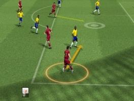 Je kunt nu spelers naar bepaalde plekken laten lopen, ook zonder bal.