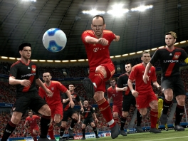 Zal Robben scoren voor Bayern München in PES2012?