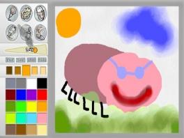 In Paint Splash kun je alles tekenen wat je wilt met je <a href = https://www.mariowii.nl/wii_spel_info.php?Nintendo=Wii-afstandsbediening>Wii Remote</a>.