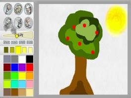 Kun je eindelijk alles tekenen wat je wilt op je Wii, teken je enkel een boom!