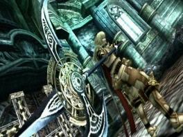 Behalve de Oraclos Chain en je zwaard krijg je ook gauw andere wapens tot je beschikking.