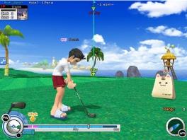 Golf-op-tropische-eilanden-spellen beginnen bijna een apart genre te worden...