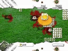 Papes Wars Cannon Fodder is een zogenaamde Tower Defense game.