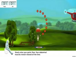 Pelvic Floor Training Physiofun: Screenshot