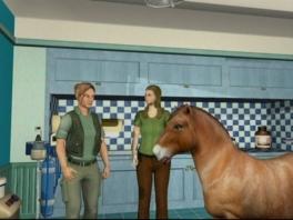 ?Er staat een paard in de gang...?