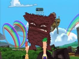 Versla het verschrikkelijke Regenboog monster!