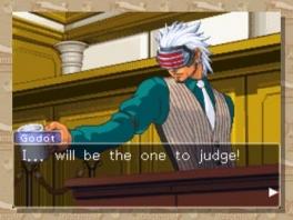 Er is een nieuwe advocaat waar je tegen speelt in de rechtzaal. Hij zal het je niet makkelijk maken!