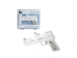 Een Wii Gun is erg handig voor schiet spellen!