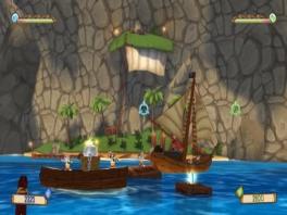 Pirate Blast heeft mooie kleurrijke graphics.