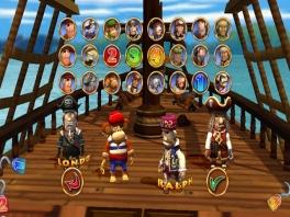 Kies je favoriete piraat, of een van de vele andere personages