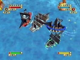 Speel als allerlei verschillende piratenschepen!