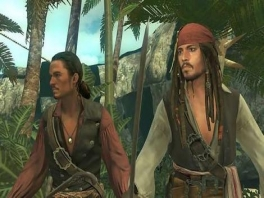 Speel als Jack Sparrow, Will Turner of Elizabeth