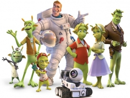 Speel als de aliens en de aardse astronaut uit de film!