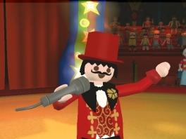 Elke minigame heeft unieke artiesten, maar de directeur steelt telkens de show!