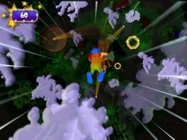 Dat skydiven is leuk, maar komt hij wel in het circus terecht?