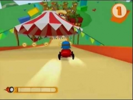 Pocoyo Racing: Screenshot