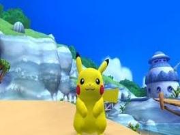 Wat ziet Pekachu er vrolijk uit!