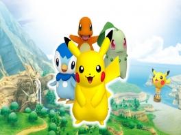 In het verhaal speel je als Pikachu. In die minigames kun je kiezen tussen vele Pokemon.