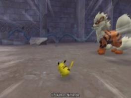 Pichachu rent supersnel en Arcanine (en andere pokemon) staan daar maar gewoon =S