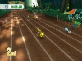 Race in Bulbasaur's Daring Dash! Vergelijk je tijd met die van je vrienden.