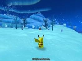 Je kan verschillende zones bezoeken. In elke zone ontmoet je andere soorten Pokemon.