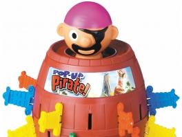 Jonge kinderen opgelet: vroeger stonden spellen niet altijd op een disk, zo ook <a href = https://www.mariowii.nl/wii_spel_info.php?Nintendo=Pop-Up_Pirate>Pop Up Pirate!</a>