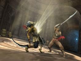 """Door zo'n zwaardslag ga je dan misschien dood, maar er gaat je in ieder geval wel een """"lichtje"""" op..."""