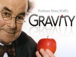 Professor Heinz Wolff, het brein achter deze game!