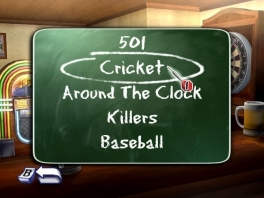 501, Cricket, Killers en meer: veel modes voor een simpele dartgame.