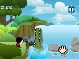 """""""Mijnheer Alligator, heeft u mijn geliefde/zoenslaaf soms gezien?"""""""