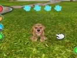 Je kunt je puppy in deze game laten zitten, liggen en rollen: meer niet!