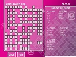 Er zijn ook makkelijke puzzels voor de mindergoede puzzelaars.