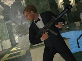 Je speelt agent 007, James Bond
