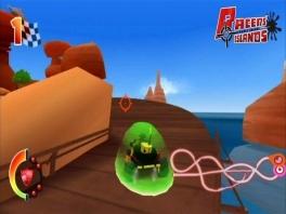 Is het niet moeilijk rijden, als je omhuld wordt door zo'n groene Blob?